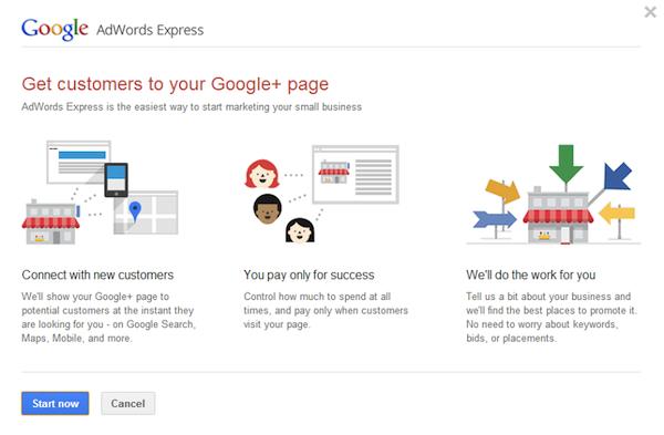 Google+ Anzeigen
