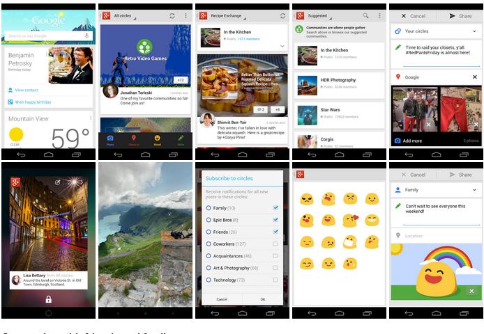 Google+ Updates