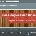 Google+ Buch auf Startnext.de