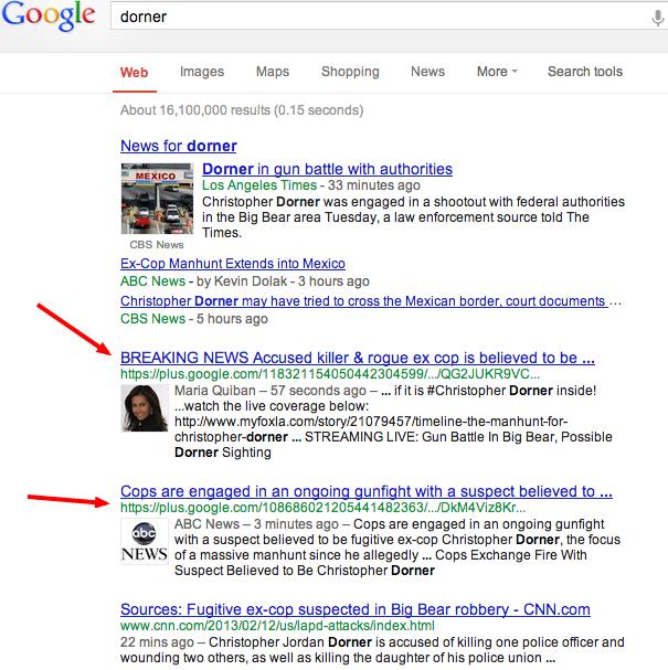 dorner-Google-Search