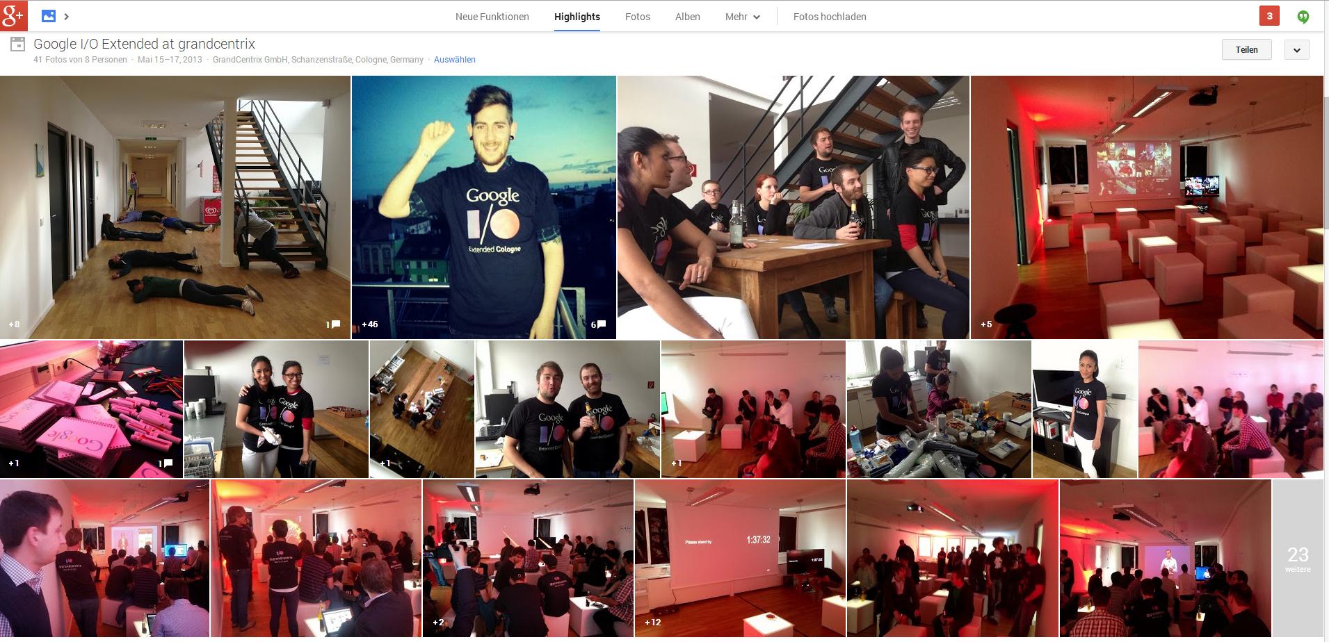 Google+ I/O Fotos