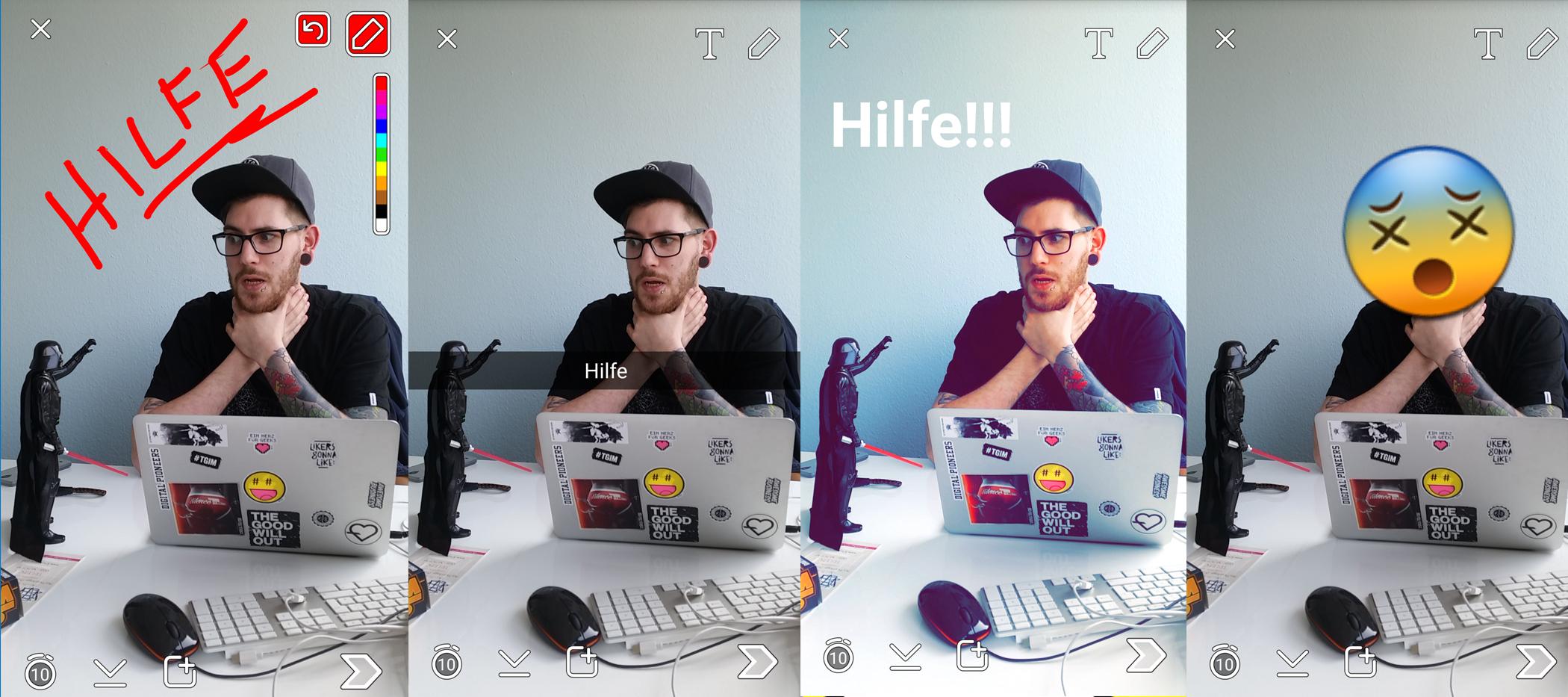 snapchat_fotobearbeitung